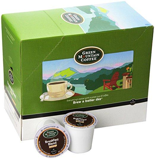 Green Mountain Coffee® Breakfast Blend Decaf Single Serve K-Cup® Pods (24 Pack)
