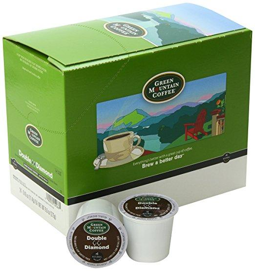 Green Mountain Coffee® Double Black Diamond Single Serve K-Cup® Pods (24 Pack)