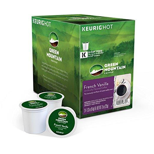 Green Mountain Coffee® French Vanilla Single Serve K-Cup® Pods (24 Pack)