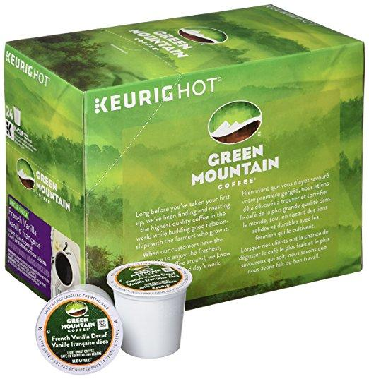 Green Mountain Coffee® French Vanilla Decaf Single Serve K-Cup® Pods (24 Pack)