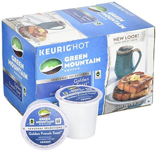 Green Mountain Coffee® Golden French Toast Single Serve K-Cup® Pods (24 Pack)