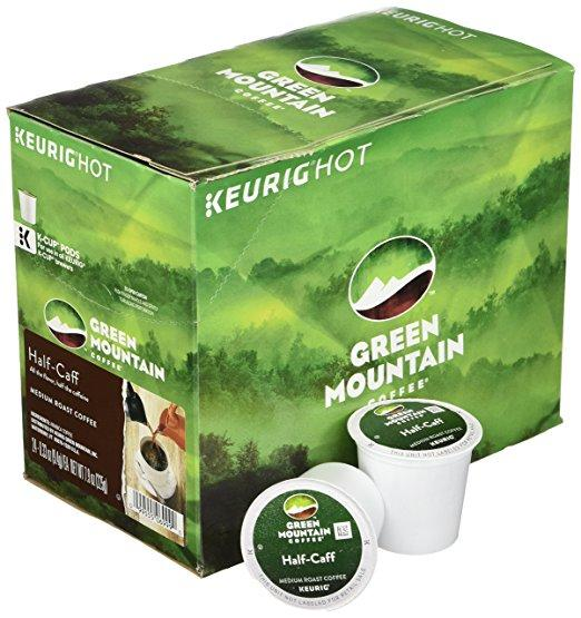 Green Mountain Coffee® Half Caff Single Serve K-Cup® Pods (24 Pack)