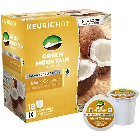 Green Mountain Coffee® Island Coconut Single Serve K-Cup® Pods (24 Pack)