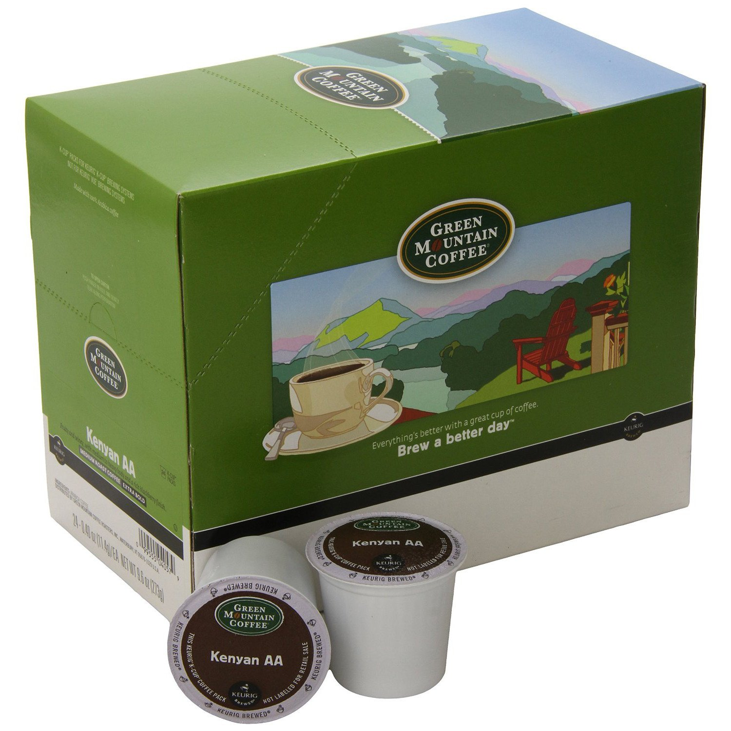 Green Mountain Coffee® Kenya Single Serve K-Cup® Pods (24 Pack)