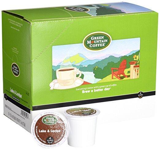 Green Mountain Coffee® Dark Roast Lake & Lodge Single K-Cup® Pods (24 Pack)