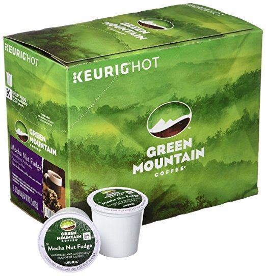 Green Mountain Coffee® Mocha Nut Fudge Single Serve K-Cup® Pods (24 Pack)