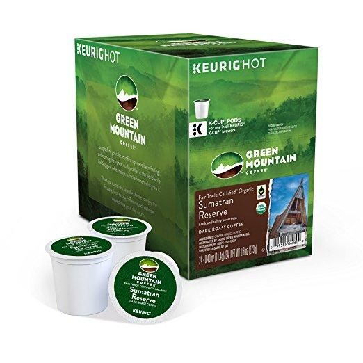 Green Mountain Coffee® Sumatran Reserve Single Serve K-Cup® Pods (24 Pack)
