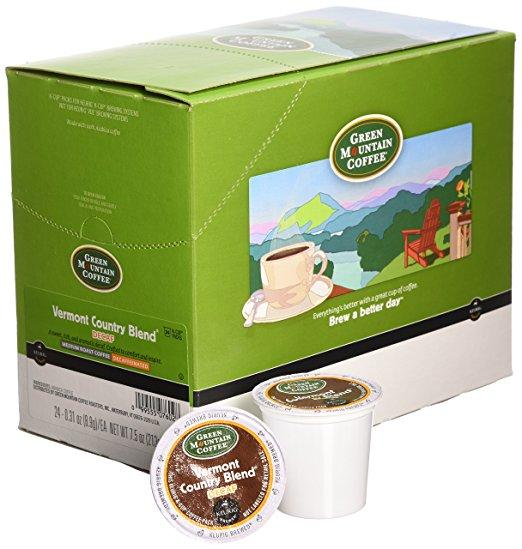 Green Mountain Coffee® Vermont Country Decaf Single Serve K-Cup® Pods (24 Pack)
