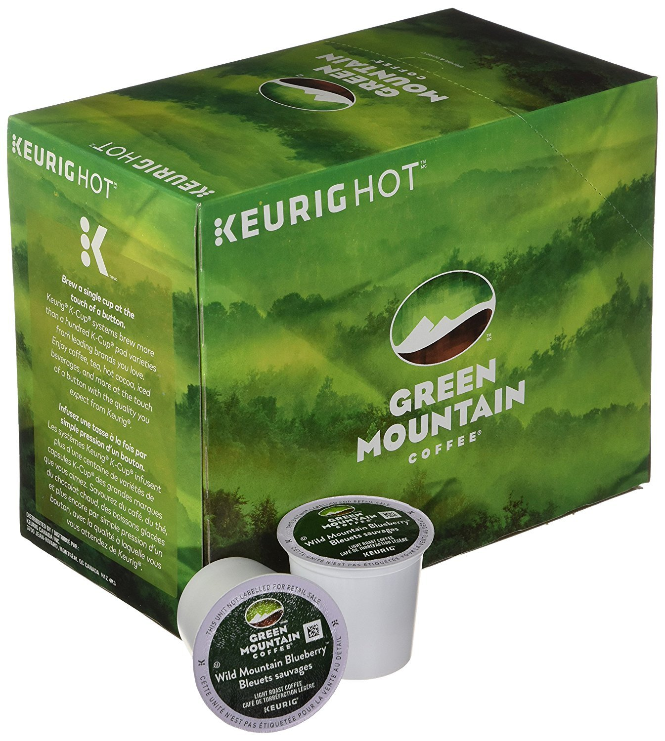 Green Mountain Coffee® Wild Mountain Blueberry Single Serve K-Cup® Pods (24 Pack)