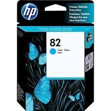 HP 82 Original Cyan Ink Cartridge (C4911A)