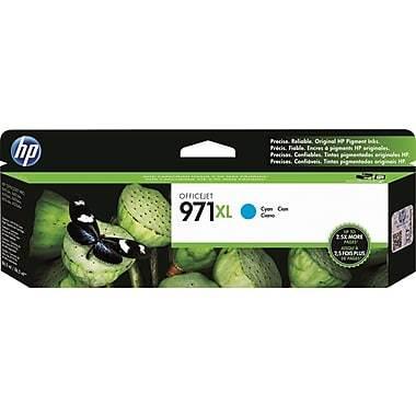 HP 971XL Cyan High Yield Original Ink Cartridge (CN626AM)