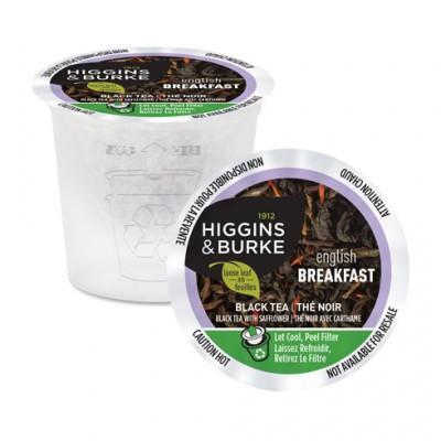 Higgins & Burke™ English Breakfast Loose Leaf Single Serve Tea (24 Pack)