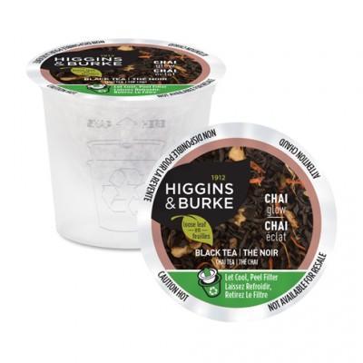Higgins & Burke™ Chai Glow Loose Leaf Single Serve Tea (24 Pack)