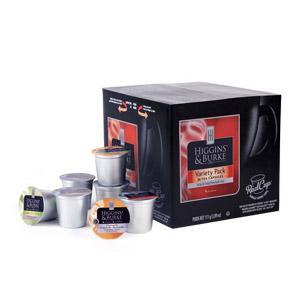 Higgins & Burke™ Variety Pack Loose Leaf Single Serve Tea (36 Pack)