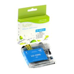 Fuzion New Compatible Cyan Ink Cartridge for Brother LC105C