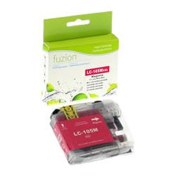 Fuzion New Compatible Magenta Ink Cartridge for Brother LC105M