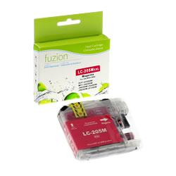 Fuzion New Compatible Magenta Ink Cartridge for Brother LC205MXX