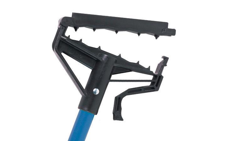 """Lock 'N' Load Fiberglass Blue Wet Mop Handle 54"""" - Each"""