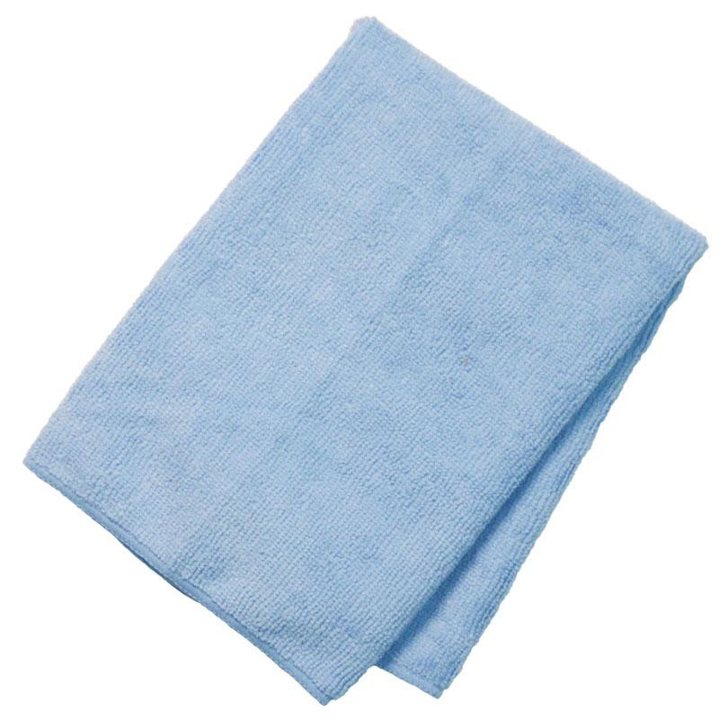 General Purpose Microfiber Cloth 16'' X 16'' Blue - 12/Pack