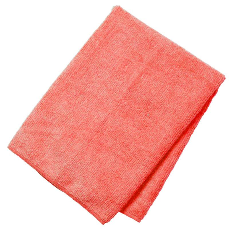 General Purpose Microfiber Cloth 16'' X 16'' Red - 12/Pack