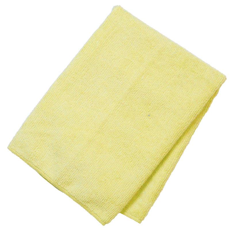 General Purpose Microfiber Cloth 16'' X 16'' Yellow - 12/Pack