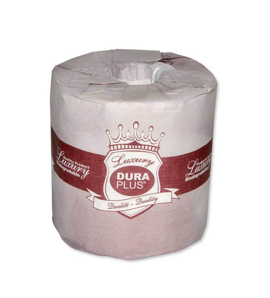 Dura Plus Premium Quality 2 Ply Bathroom Tissue 420 Sheets per Roll - 48 Rolls