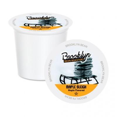 Brooklyn Bean Maple Sleigh Single Serve Coffee Cups (24 Pack)