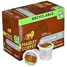 Marley Coffee Buffalo Soldier Single Serve Coffee (24 Pack)