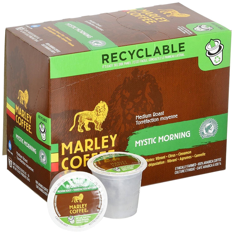 Marley Coffee Mystic Morning Single Serve Coffee (24 Pack)