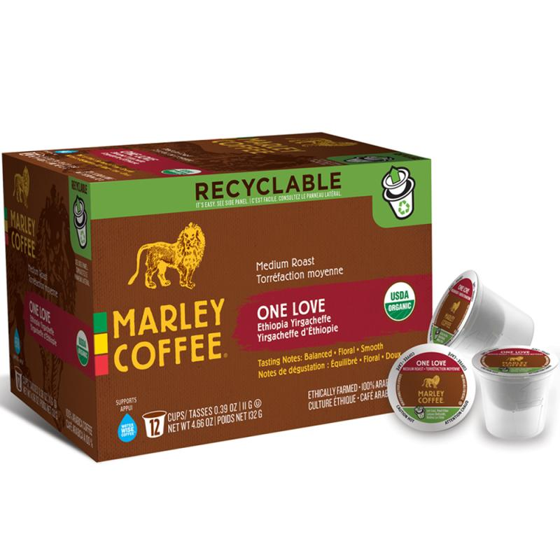 Marley Coffee One Love Single Serve Coffee (24 Pack)