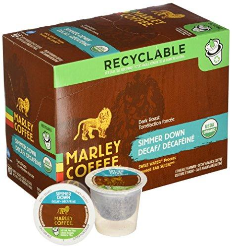 Marley Coffee Simmer Down Decaf Single Serve Coffee (24 Pack)
