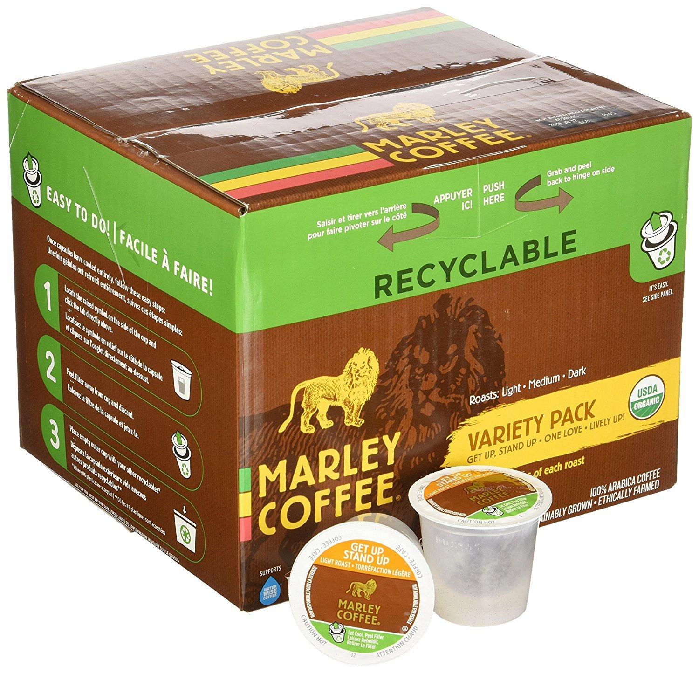 Marley Coffee Variety Pack Single Serve Coffee (36 Pack)