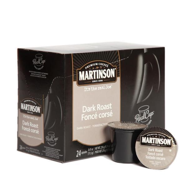Martinson Coffee Dark Roast Single Serve Coffee (24 Pack)