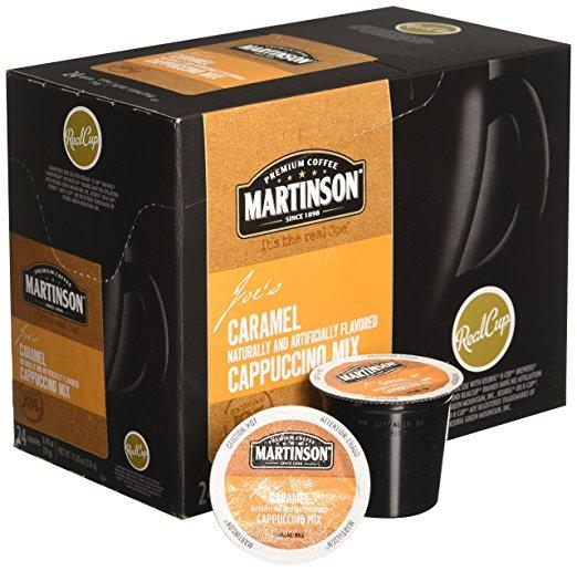 Martinson® Caramel Cappuccino Single Serve Cups (24 Pack)