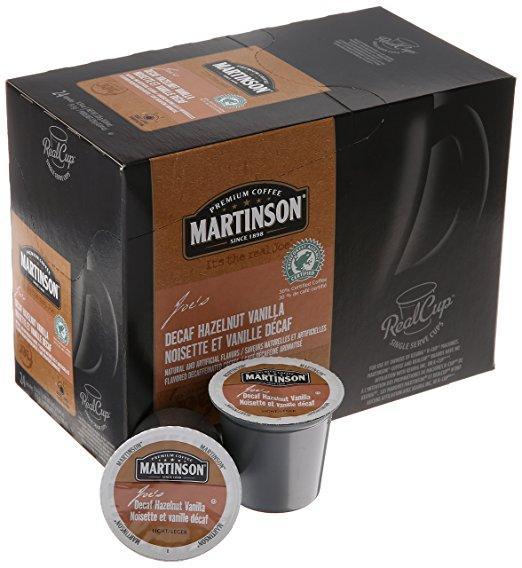 Martinson Joe's Decaf Hazelnut Vanilla Single Serve Coffee (24 Pack)