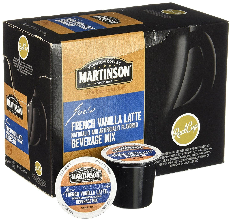 Martinson® French Vanilla Latte Single Serve Cups (24 Pack)