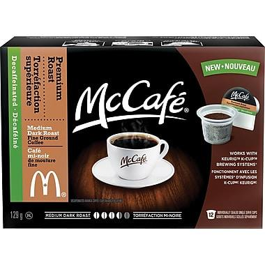 McCafé® Decaf Premium Roast Single Serve K-Cup® Pods (12 Pack)