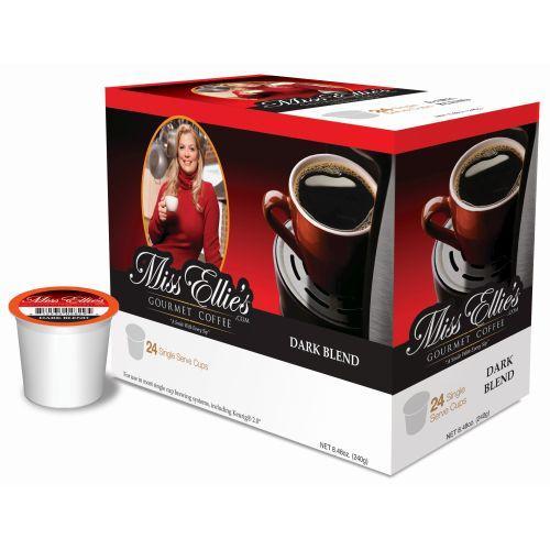 Miss Ellie's Dark Roast Blend Single Serve Coffee (24 Pack)