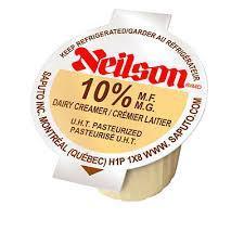 Neilson 10% Creamers - 100 Singles