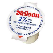 Neilson 2% Milk - 100 Singles (Milkettes)