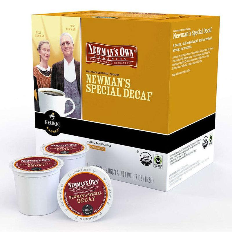 Newman's Own® Organics Special Decaf K-Cup® Pods (24 Pack)