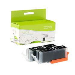 Fuzion New Compatible Black Ink Cartridge 2-pack for Canon PGI250XL