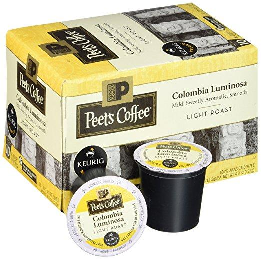 Peet's Coffee® Colombia Luminosa K-Cup® Pods (10 Pack)