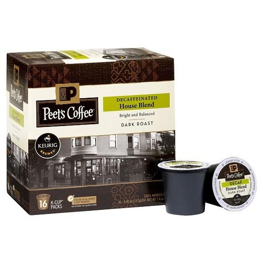Peet's Coffee® Decaf House Blend K-Cup® Pods (10 Pack)