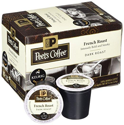 Peet's Coffee® French Roast K-Cup® Pods (10 Pack)
