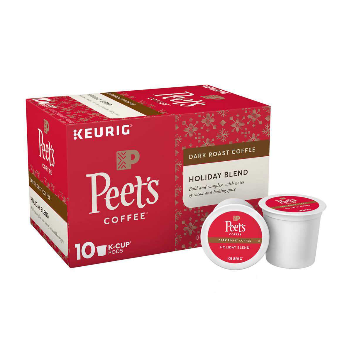 Peet's Coffee® Holiday Blend K-Cup® Pods (10 Pack)