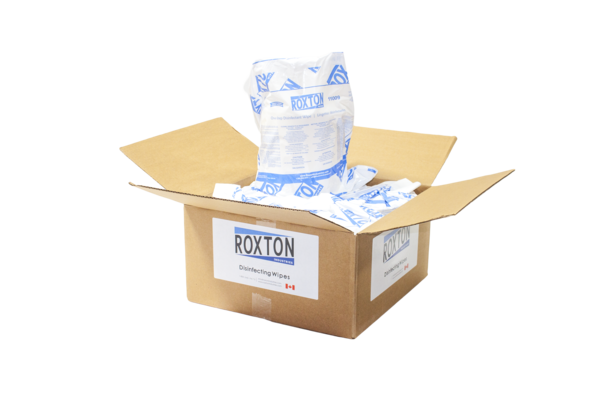 Roxton Wipes Disinfecting Wipes (4 x 800 Sheet Rolls)
