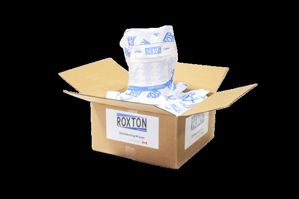 Roxton Disinfecting Wipes (4 x 800 Sheet Rolls)