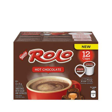 Rolo Hot Chocolate Single Serve Single Serve Cups (12 Pack)