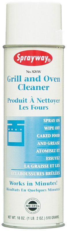 Sprayway Aerosol Grill And Oven Cleaner 18 Oz